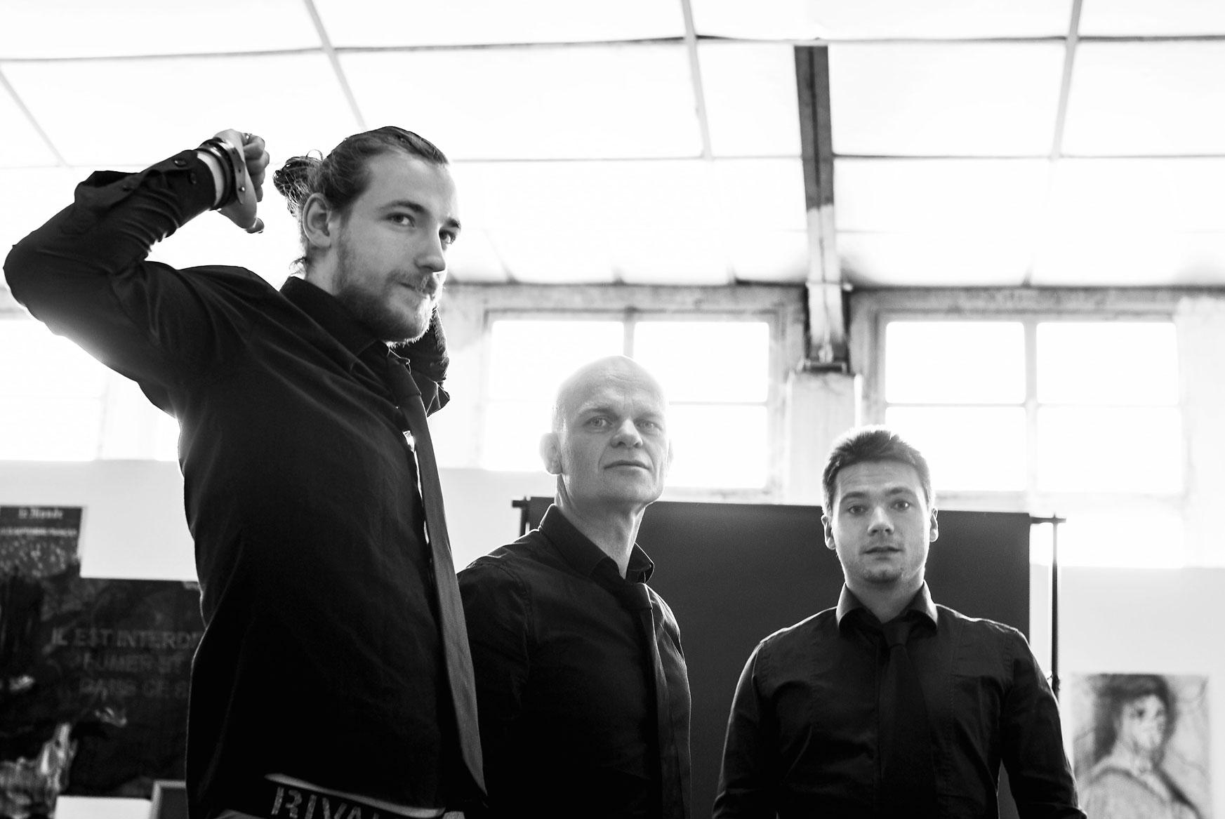 photo promo du groupe de rock français