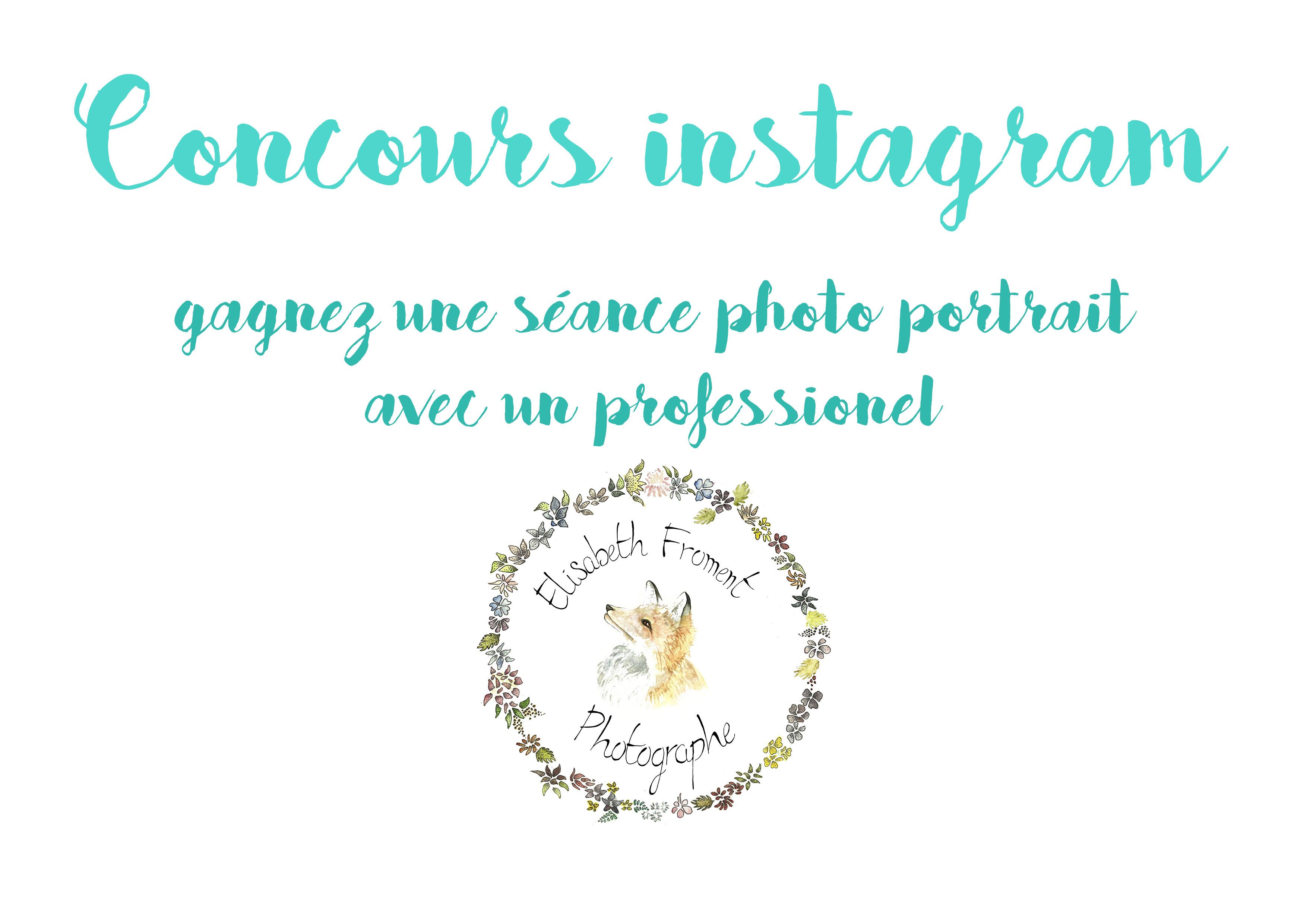 concours instagram séance photo portrait Tours avec un photographe professionnel