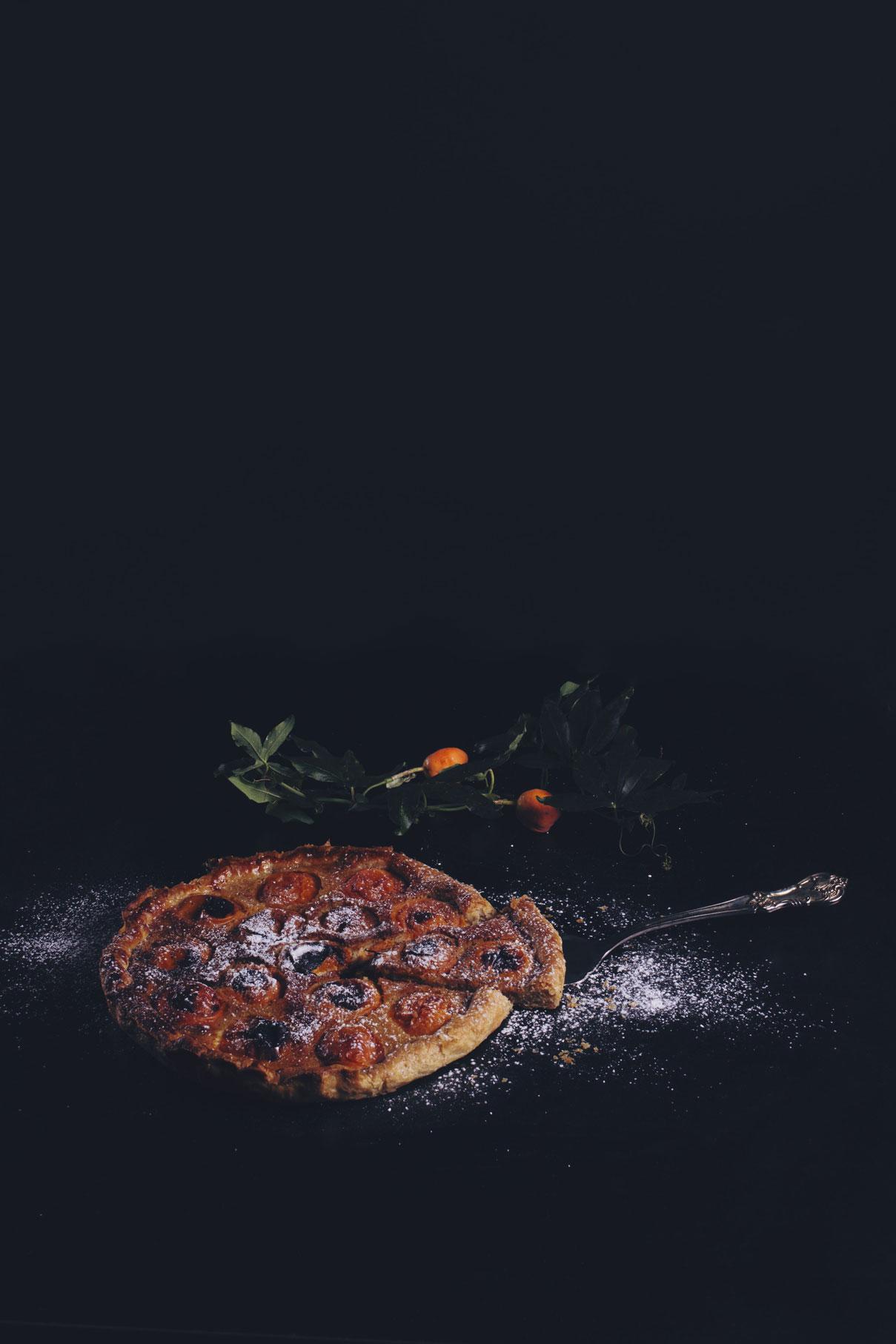 photographe culinaire 37 tarte aux abricot