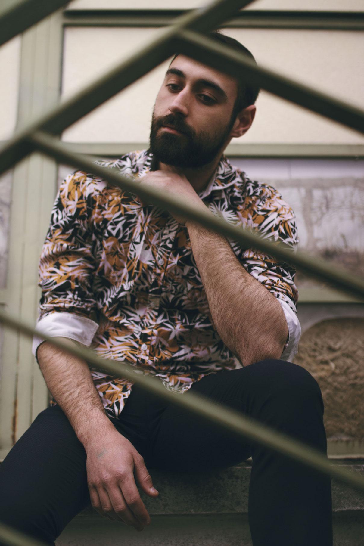photographe portrait homme tours