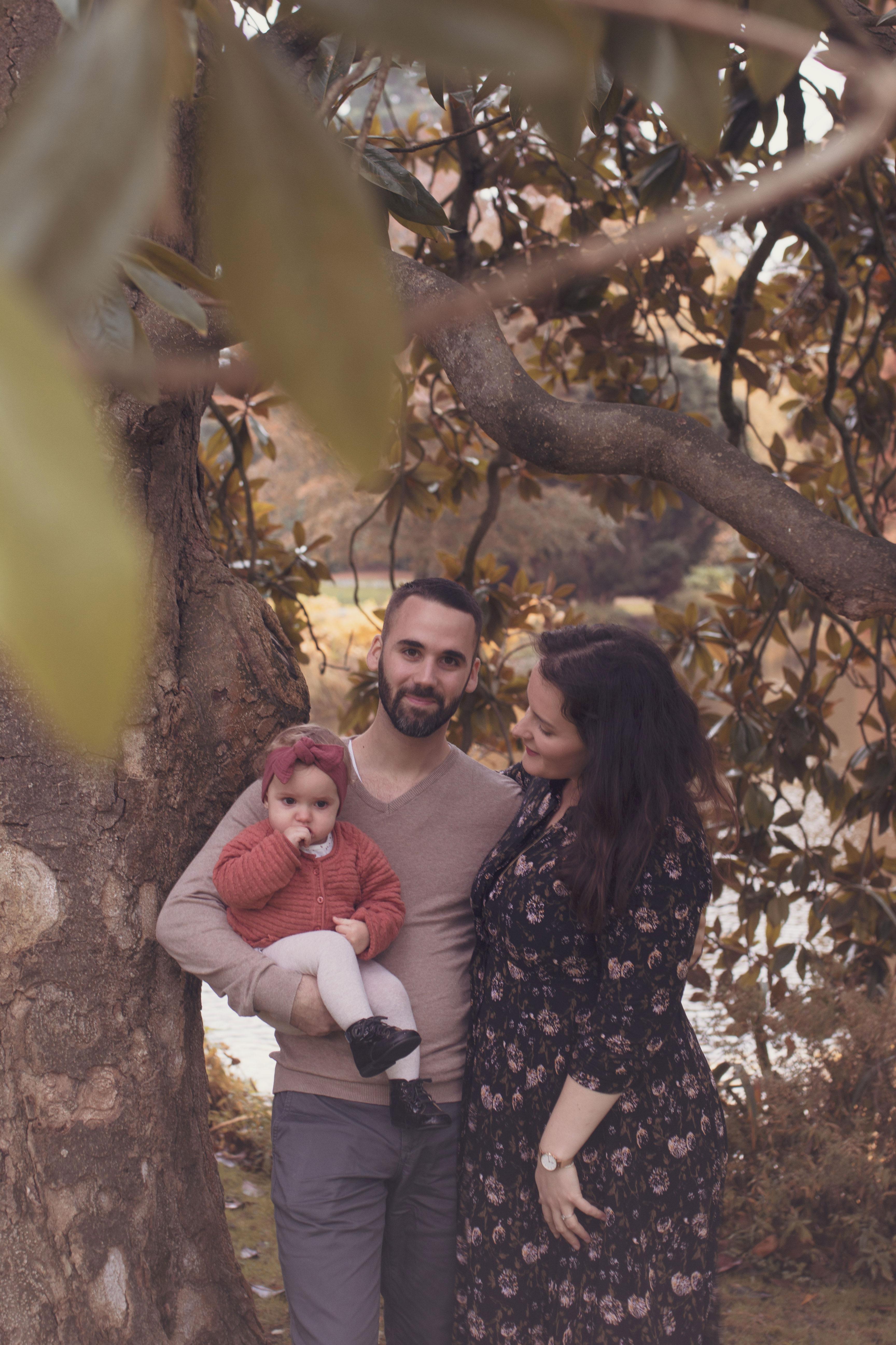 portrait de famille un nature