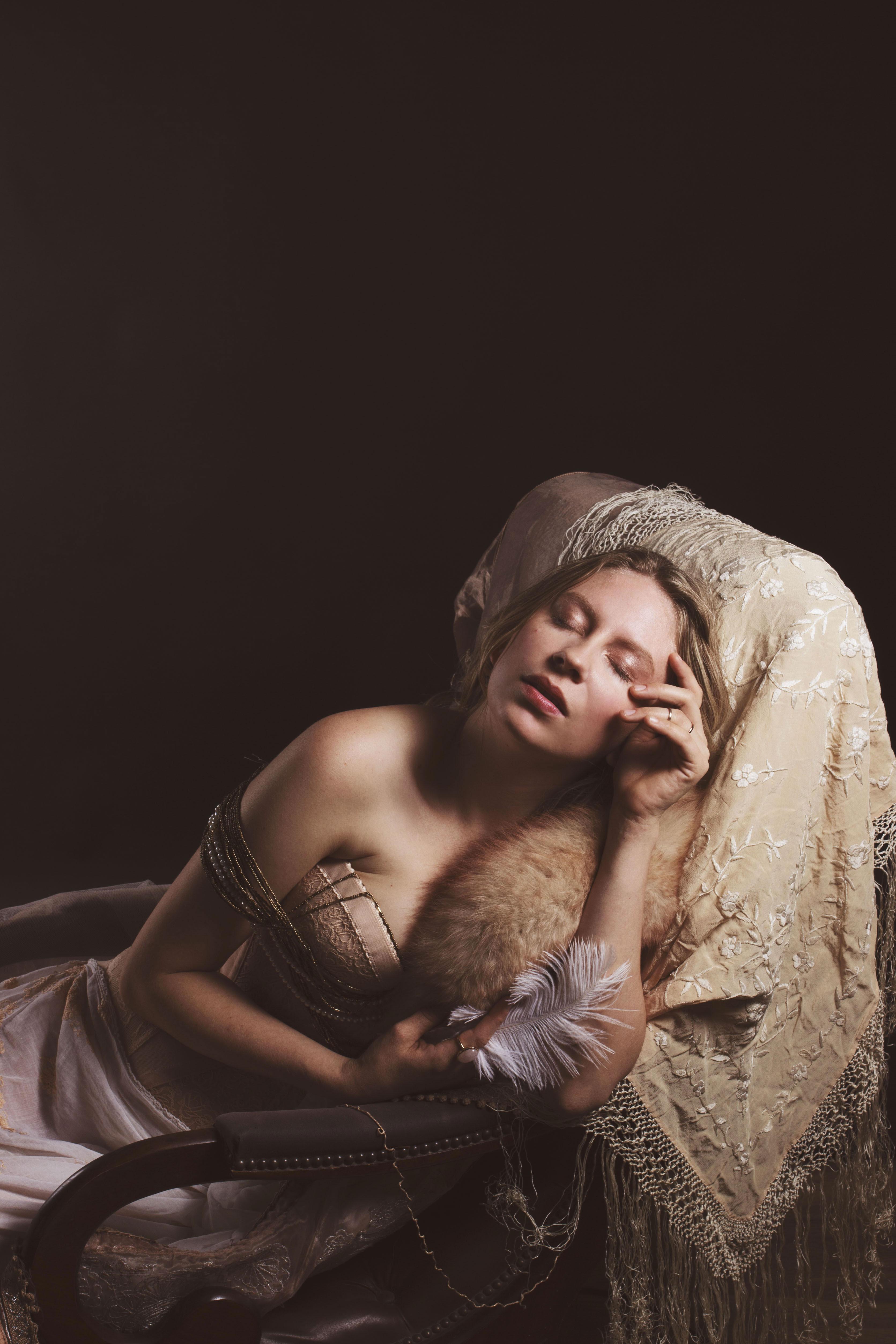portrait studio ambiance boudoir vintage