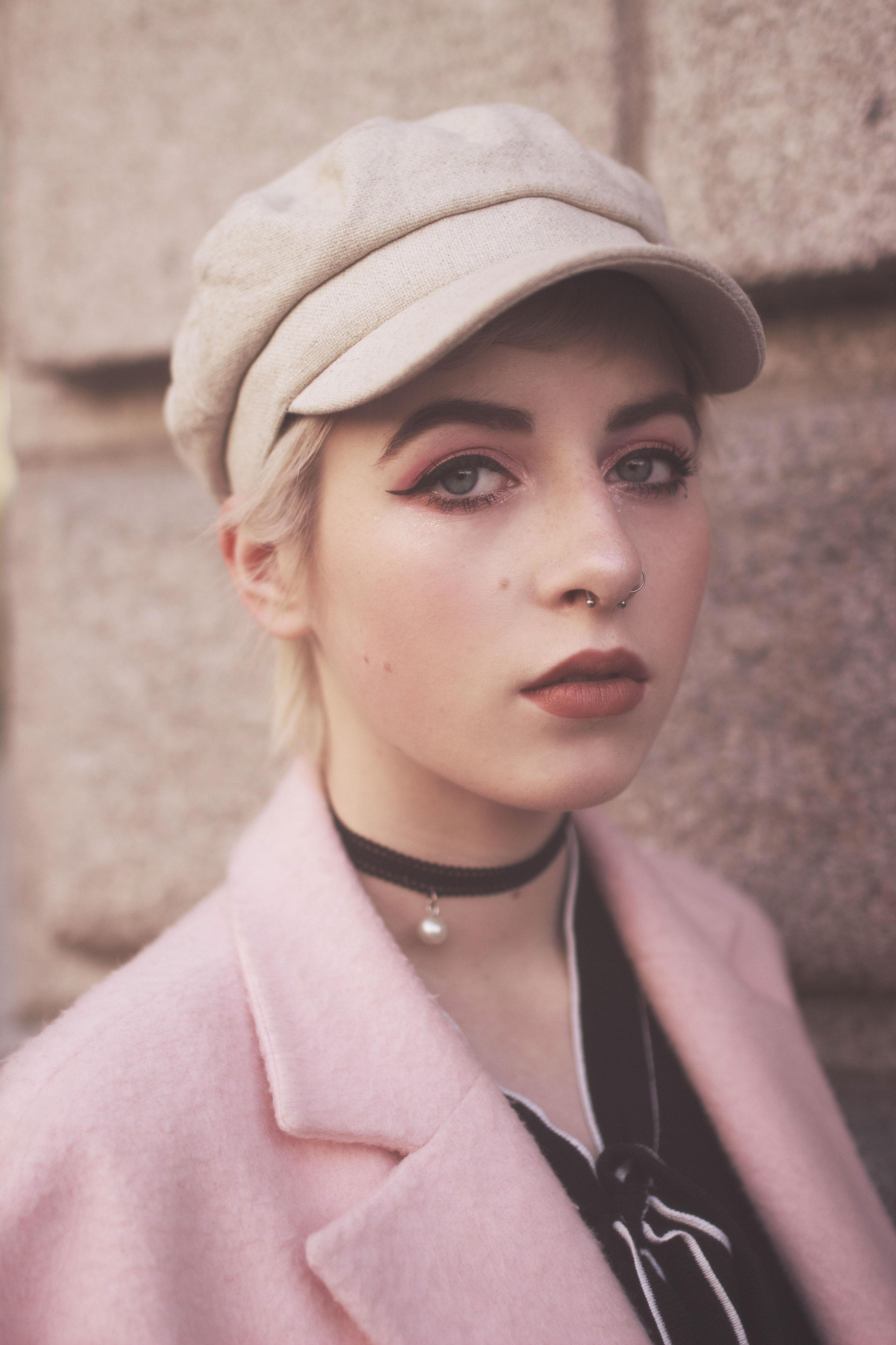 portrait mode rapproché rose