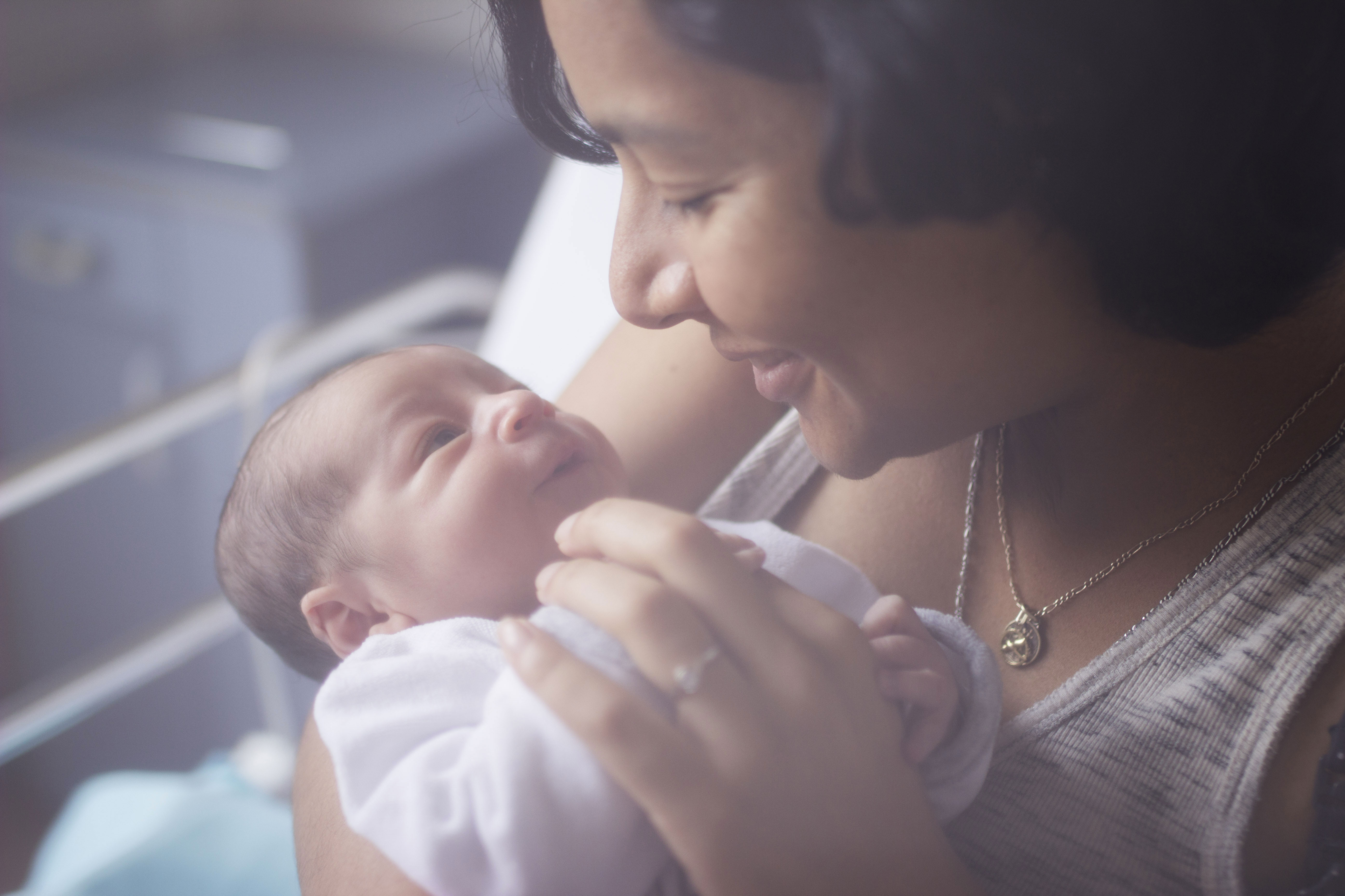 photo de naissance à la maternité