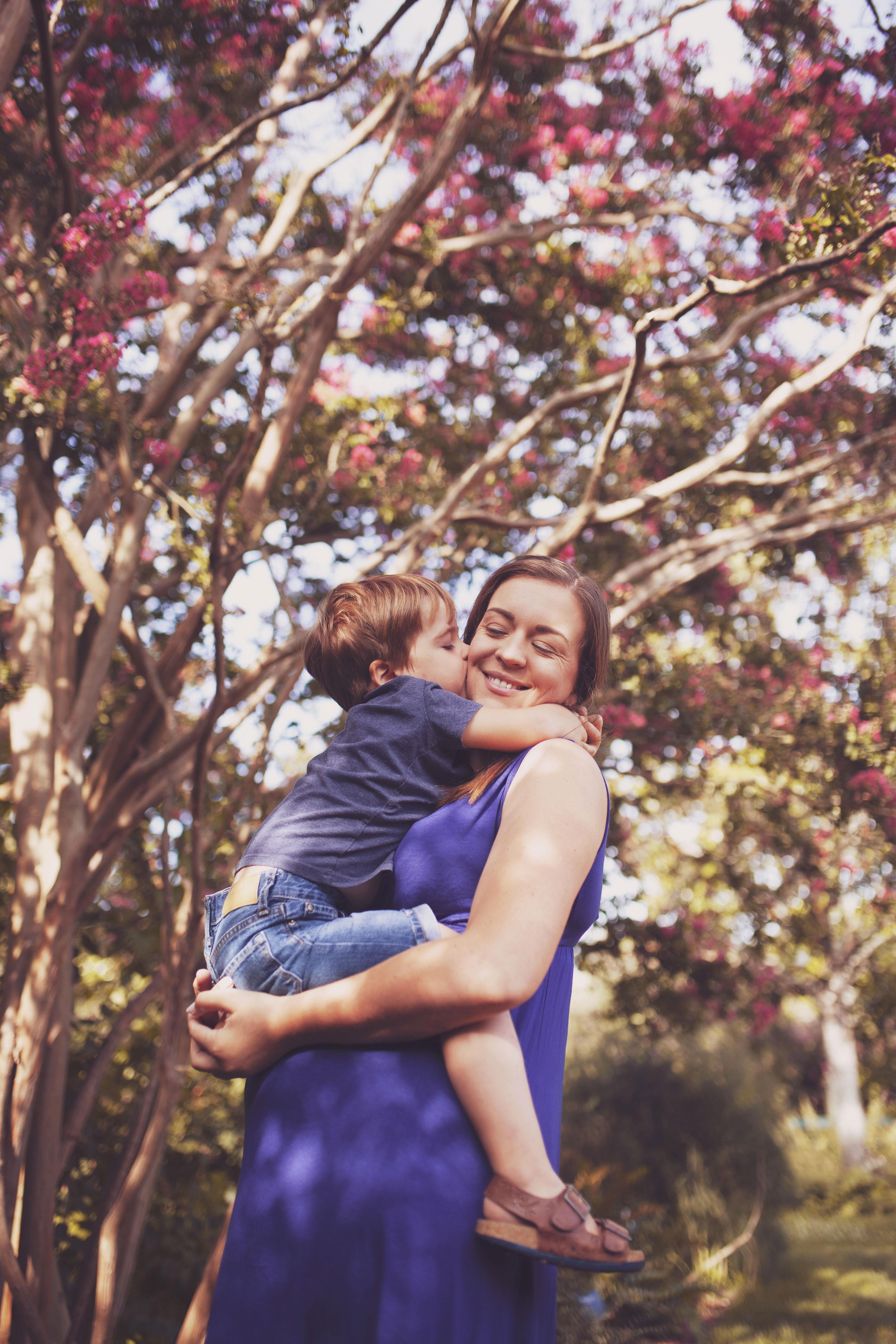 photo de famille au jardin botanique