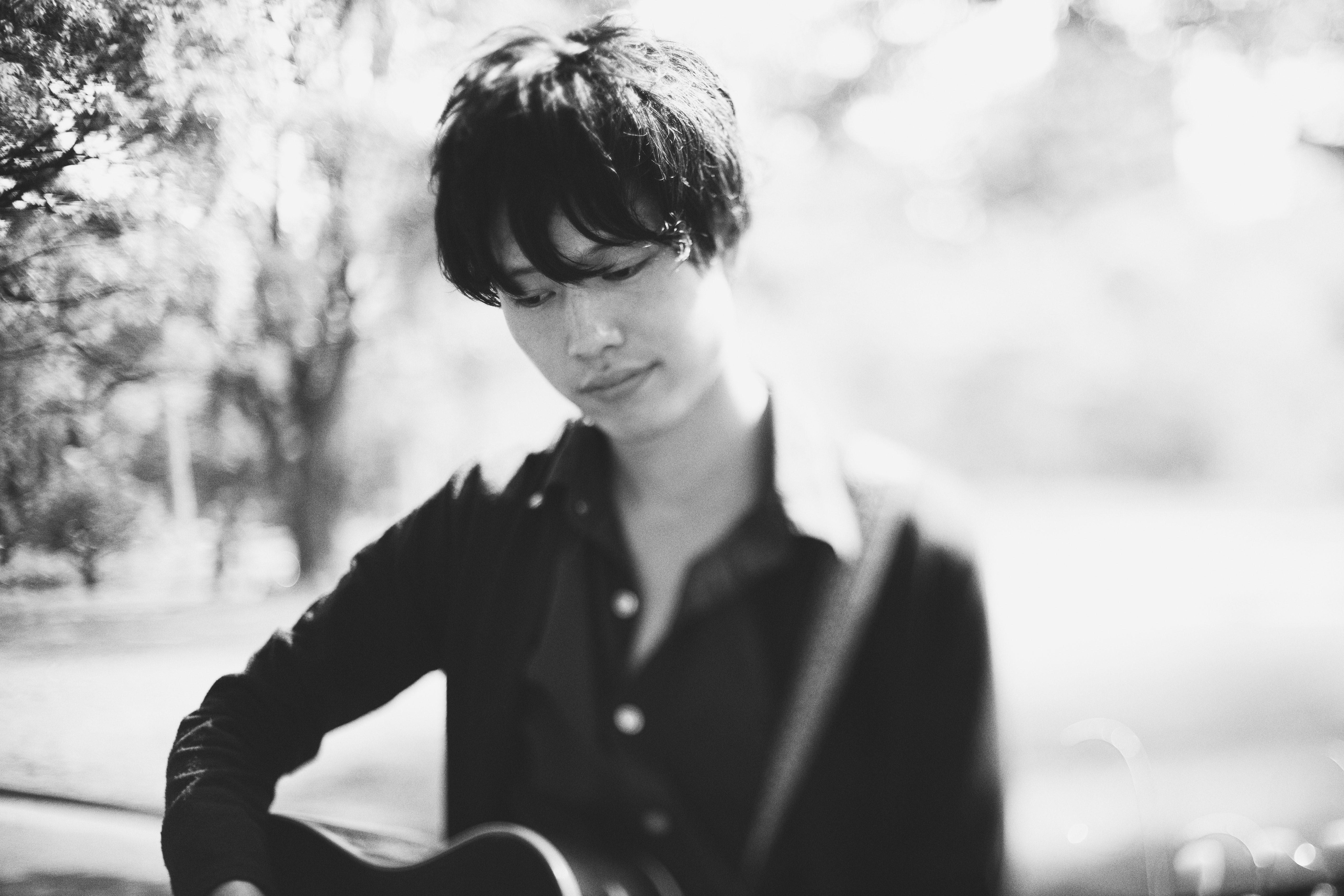 portrait d'un musicien japonais
